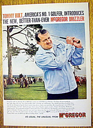 1959 McGregor Drizzler Coat with Golfer Tommy Bolt (Image1)
