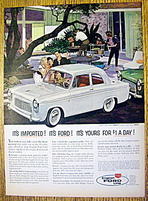 1959 English Ford Line with Anglia 2 Door Sedan (Image1)