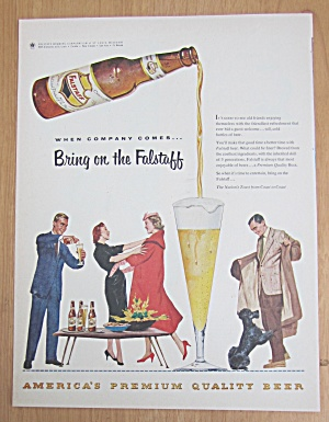 1959 Falstaff Beer with People Picnicing (Image1)