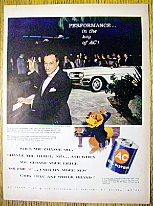 1959 AC Oil Filter with Victor Borge and Trapper (Image1)
