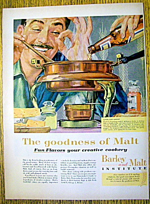 1959 Barley & Malt Institute with Quick & Easy Rarebit (Image1)