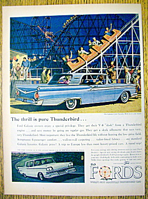 1959 Ford Automobile With Galaxie Club Victoria