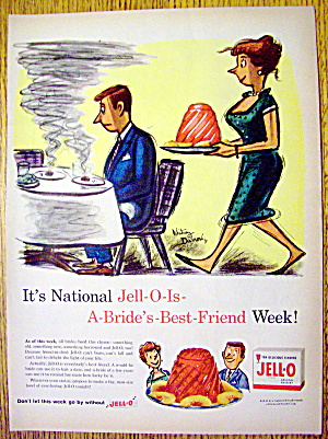 1959 Jell-o With Bride's Best Friend By Whitney Darrow