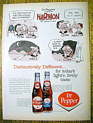 1964 Dr. Pepper With Harmon By Johnny Hart