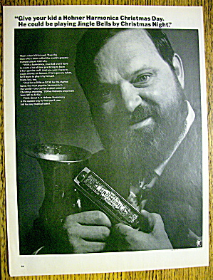 1967 Hohner Harmonica With Trumpet Player Al Hirt