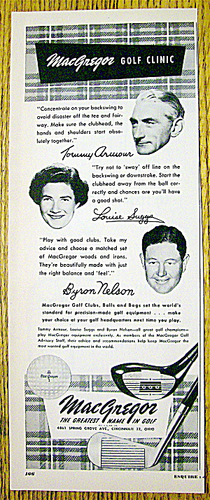 1952 Macgregor Golf Clinic With Nelson, Suggs & Armour