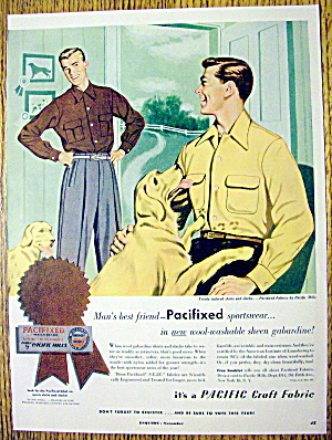 1952 Pacific Sportswear with Two Men & Two Dogs (Image1)