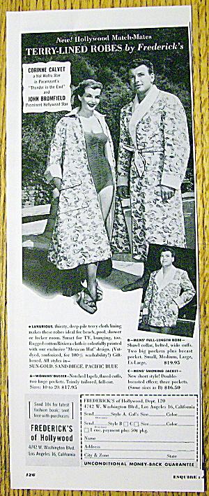 1952 Frederick Of Hollywood Robes w/Calvet & Bromfield (Image1)