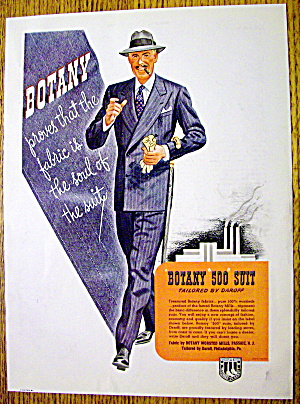 1943 Botany 500 Suit with Man Walking in the Suit (Image1)