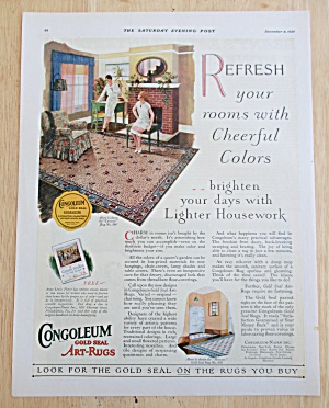 1926 Congoleum Art Rugs with Women  (Image1)