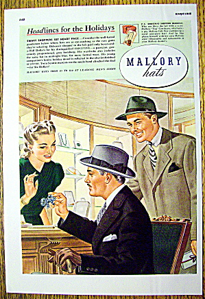 1941 Mallory Hats with Smart Shoppers (Image1)