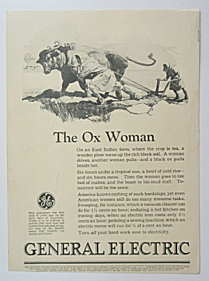 1926 General Electric with The Ox Woman  (Image1)