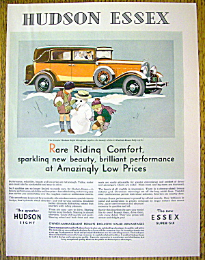 1931 Hudson Essex w/ the Greater Hudson Eight Brougham (Image1)