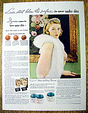 1934 Pond's Cold Cream with Lovely Woman (Image1)