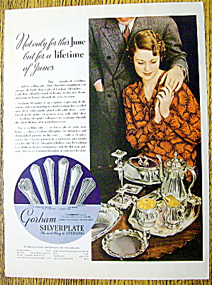 1935 Gorham Silverplate with Woman Holding Man's Hand (Image1)