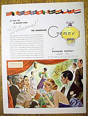 1936 Gemey Perfume with The Charleston (Image1)