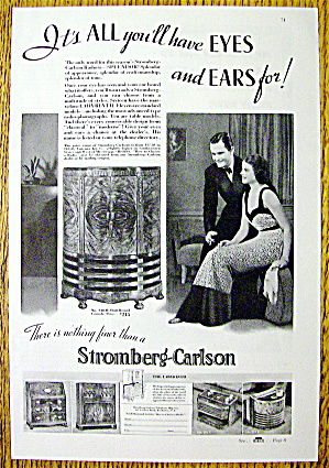 1937 Stromberg Carlson With Man & Woman