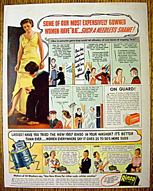 1937 Rinso & Lifebuoy Soap with 2 Stories About Women (Image1)