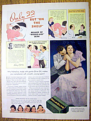 1937 Palmolive with Man & Woman Sitting (Image1)