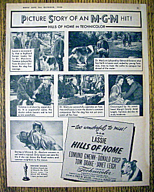1948 Hills Of Home W/lassie, Donald Crisp & Janet Leigh