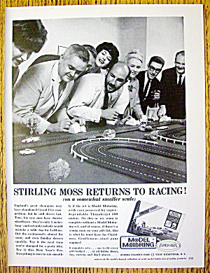 1963 Aurora Model Motoring with People & Racing Set (Image1)