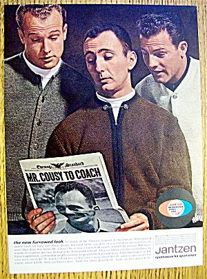1963 Jantzen w/Frank Gifford, Bob Cousy & Paul Hornung (Image1)