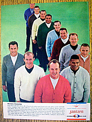 1964 Jantzen With Terry Baker, Abe Woodson & More