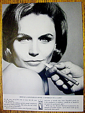 1964 Tiparillo Cigars With Lee Remick