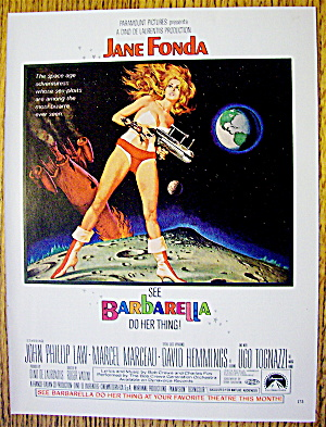 1968 Barbarella with Jane Fonda (Image1)