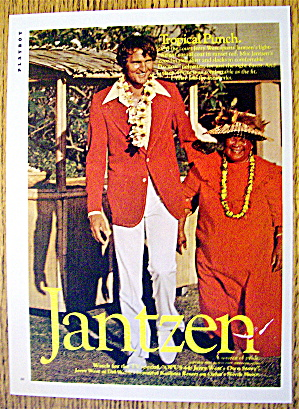 1974 Jantzen with Jerry West At A Oahu Resort (Image1)