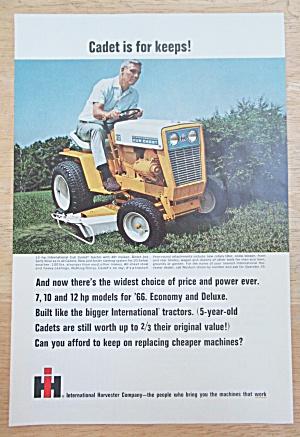 1966 International Harvester w/ International Cub Cadet (Image1)