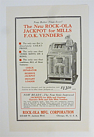 1932 Rock-ola Manufacturing Co. With Rock-ola Jackpot