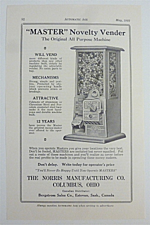 1932 Norris Manufacturing Co with Novelty Vendor (Image1)