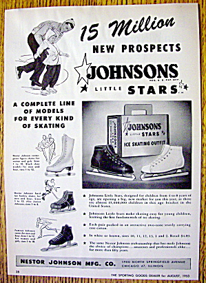 1953 Johnson's Little Stars with Ice Skates (Image1)
