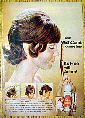 1972 Adorn Hair Spray with Side View Of Woman (Image1)