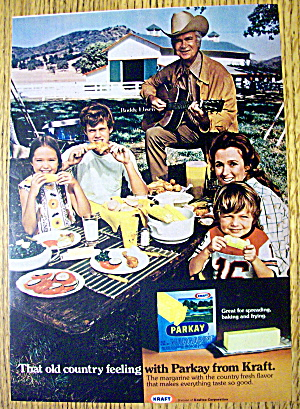 1973 Parkay Margarine With Buddy Ebsen