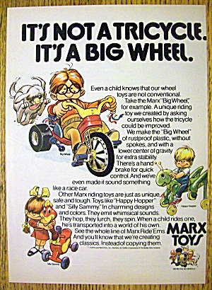 1974 Marx Toys w/ Big Wheel, Happy Hopper & Silly Sammy (Image1)