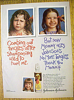 1974 Johnson No More Tangles with Little Girl (Image1)