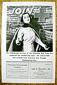 Vintage Ad: 1939 American Red Cross (Image1)