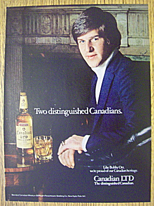 1979 Canadian LTD Whiskey with Bobby Orr (Image1)