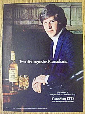 1979 Canadian LTD Whiskey with Bobby Orr (Image1)