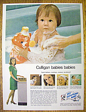 1974 Culligan with Baby In Tub With Toy (Image1)