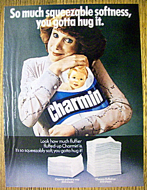 1980 Charmin Toilet Tissue with Woman Smiling (Image1)