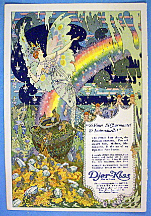 1913 Djer Kiss with Lovely Woman as an Angel (Image1)