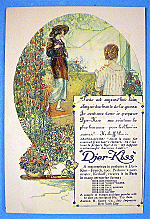 1913 Djer Kiss with 2 Woman Talking (Image1)