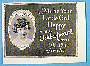 1913 Add a Pearl Necklace with Girl Wearing Necklace (Image1)
