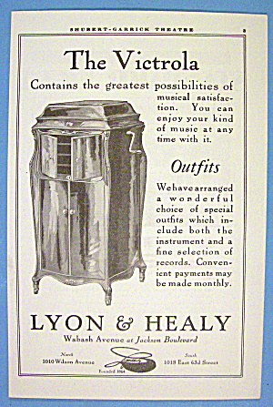 1913 Lyon & Healy With Victrola