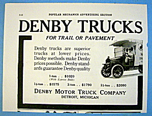1916 Denby Motor Truck Company with Denby Trucks (Image1)