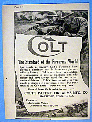 1918 Colt Patent Firearms with Men Shooting (Image1)