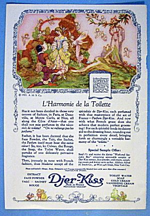 1921 Djer Kiss w/L'Harmonie  De La Toilette by Pogany (Image1)